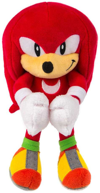 Sonic The Hedgehog Knuckles 8-Inch Plush [Smiling]