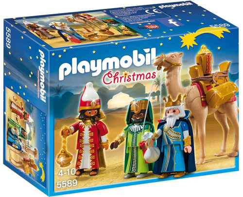Playmobil Christmas Three Wise Kings Set #5589 [Damaged Package]