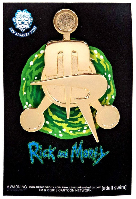 Rick & Morty The Council of Morty's Emblem 2.2-Inch Lapel Pin