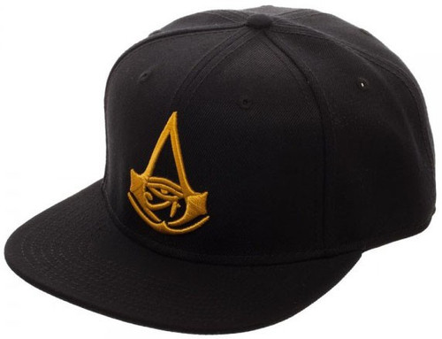 Assassin's Creed Origins Assassins Creed Origins Black Snapback Cap