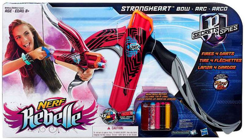 NERF Secrets & Spies Rebelle Strongheart Bow Roleplay Toy