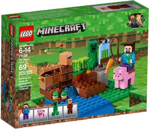 LEGO Minecraft The Melon Farm Set #21138