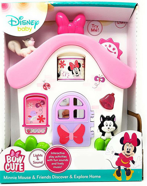 Disney Baby Bow Cute Minnie Mouse & Friends Discover & Explore Home Exclusive