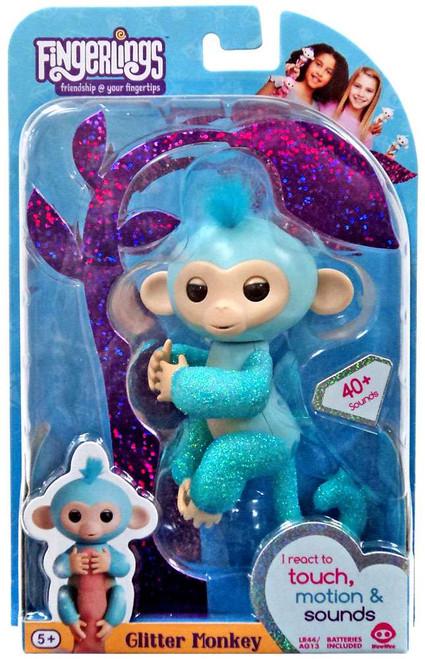 Fingerlings Glitter Monkey Amelia Figure