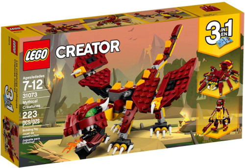 LEGO Creator Mythical Creatures Set #31073