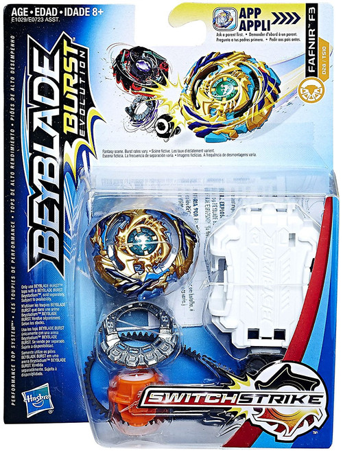 Beyblade Burst Switchstrike Fafnir F3 Starter Pack [Version 1]