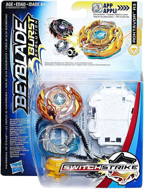 Beyblade Burst Switchstrike Roktavor R3 Starter Pack