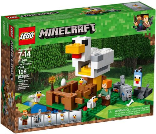 LEGO Minecraft The Chicken Coop Set #21140