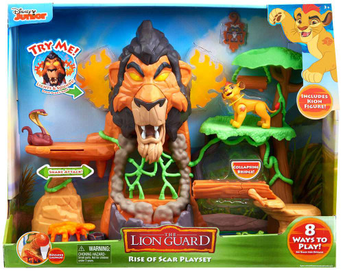 Disney The Lion Guard The Rise of Scar Playset