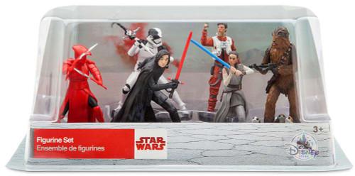 Disney Star Wars The Last Jedi Exclusive 6-Piece PVC Figure Play Set