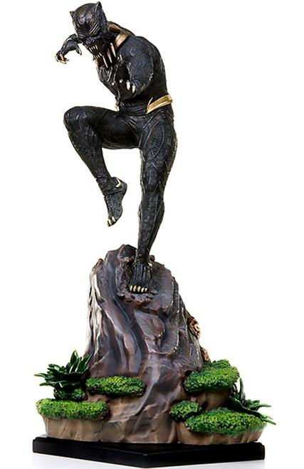 Marvel Black Panther Killmonger Battle Diorama Statue