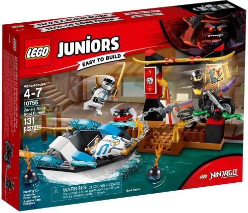 LEGO Juniors Ninjago Zane's Ninja Boat Pursuit Set #10755
