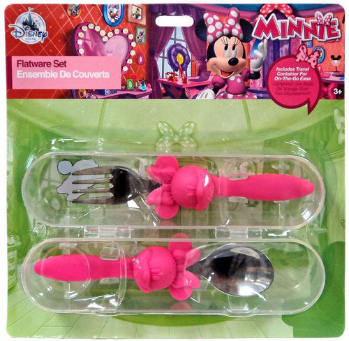 Disney Minnie Mouse Minnie Exclusive Flatware Set