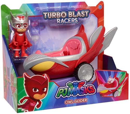 Disney Junior PJ Masks Turbo Blast Racers Owl Glider Vehicle