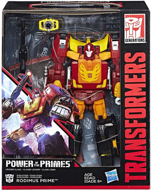 Transformers Generations Power of the Primes Rodimus Prime Leader Action Figure