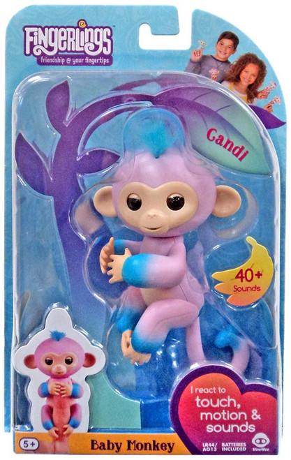 Fingerlings Baby Monkey Candi Figure