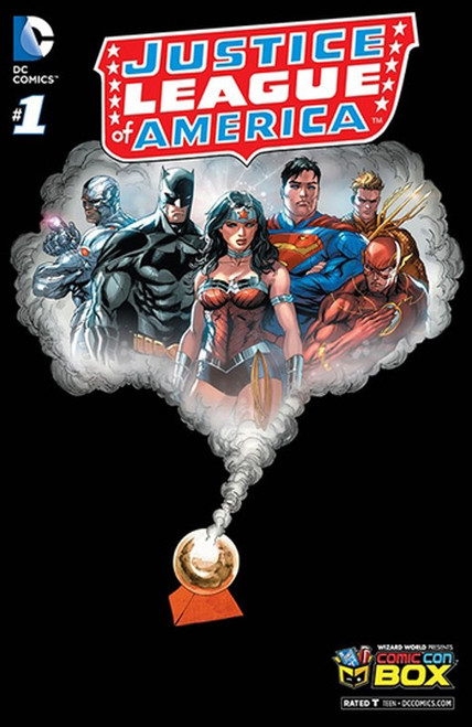 DC Justice League of America #1 Exclusive Comic Book [Comic Con Box Variant]