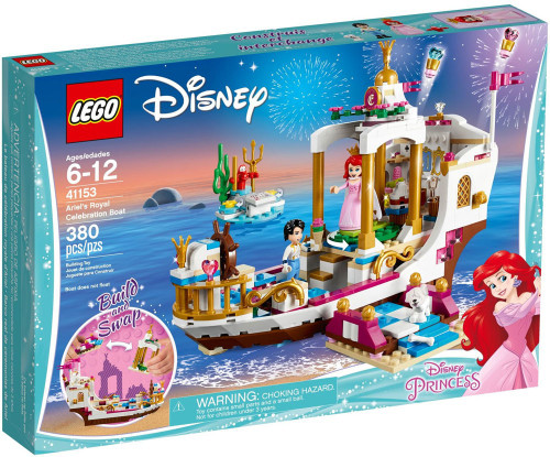 LEGO Disney Princess Ariel's Royal Celebration Boat Set #41153