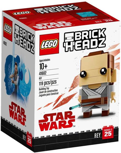 LEGO Star Wars Brick Headz Rey Set