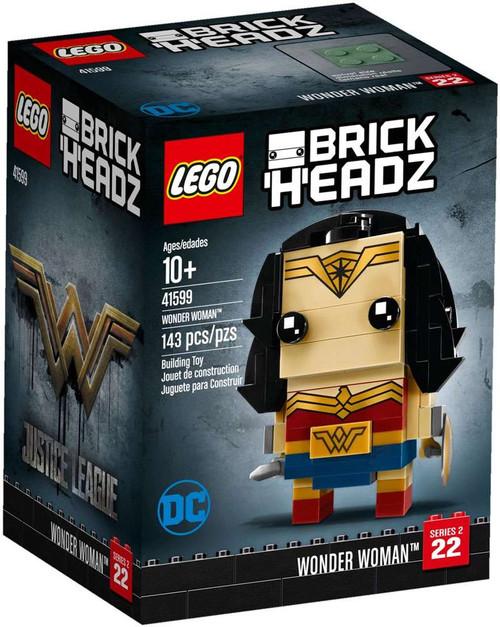 LEGO DC Justice League Brick Headz Wonder Woman Set #41599