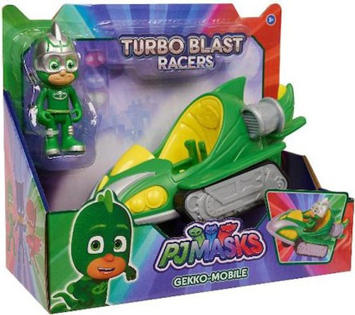 Disney Junior PJ Masks Turbo Blast Racers Gekko-Mobile Vehicle