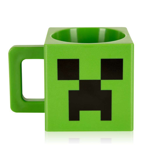 Minecraft Creeper Face Plastic Mug