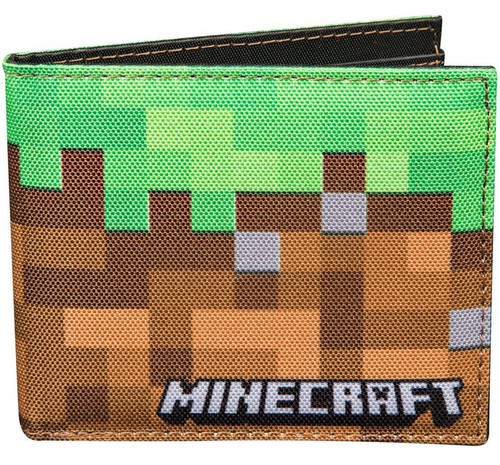 Minecraft Dirt Block Bi-fold Wallet