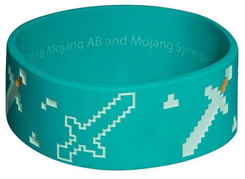 Minecraft Explorer Rubber Bracelet