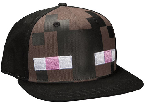 Minecraft Enderman Mob Snapback Cap