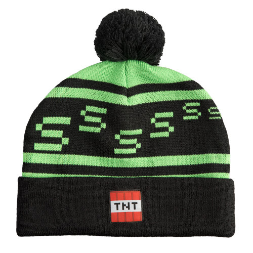 Minecraft Creeper TNT Beanie Hat