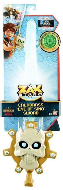 """Zag Heroez Zak Storm Calabrass """"Eye of Sino"""" Sword Roleplay Toy"""
