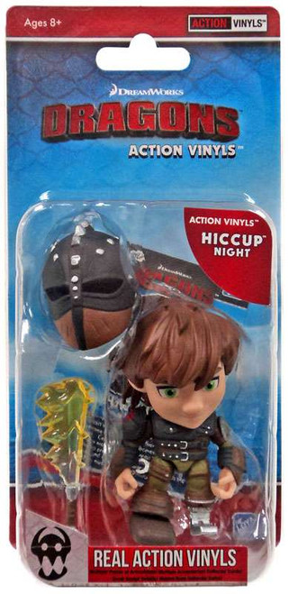 How to Train Your Dragon Action Vinyls Hiccup Vinyl Figure [Night]