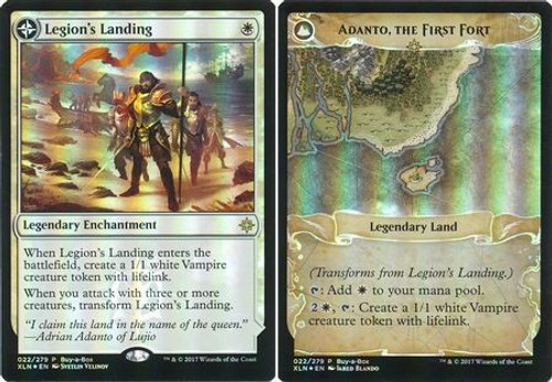 MtG Ixalan Promo Adanto, the First Fort / Legion's Landing [FOIL Buy-a-Box Promo]