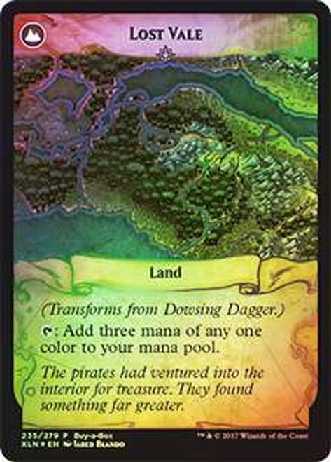 MtG Ixalan Promo Dowsing Dagger / Lost Vale [Buy-a-Box Promo Foil]