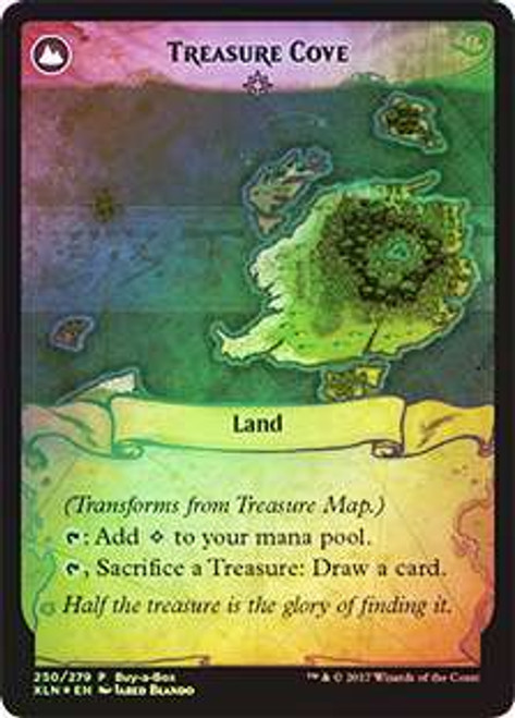 MtG Ixalan Promo Treasure Map / Treasure Cove [Buy-a-Box Promo Foil]
