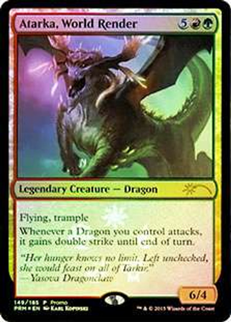 MtG Fate Reforged Promo Atarka, World Render [Buy-a-Box Promo Foil]