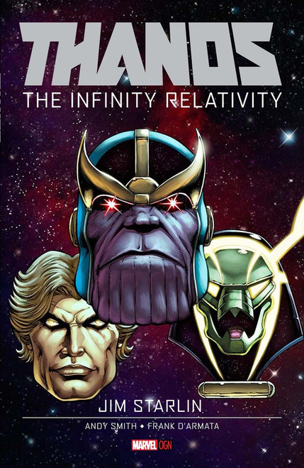 Thanos: The Infinity Relativity Original Graphic Novels Hardcover Comic Book