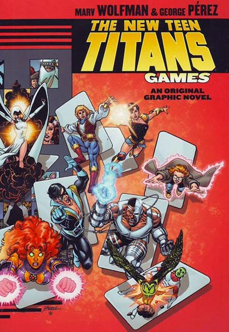 DC The New Teen Titans: Games Original Graphic Novel Hardcover Comic Book
