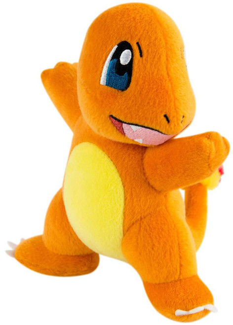 Pokemon Charmander 8-Inch Plush [Arms Out, Mouth Open]