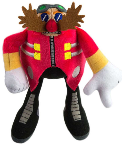 Sonic The Hedgehog Dr. Eggman 8-Inch Plush [Modern, Pointing Finger]