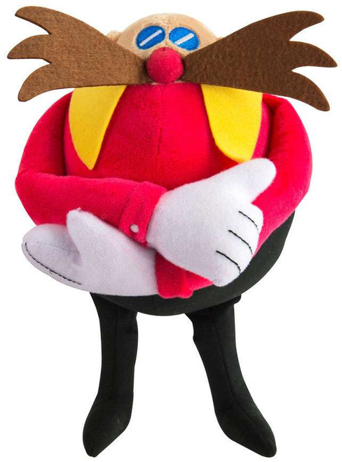 Sonic The Hedgehog Dr. Eggman 8-Inch Plush [Classic, Arms Folded]