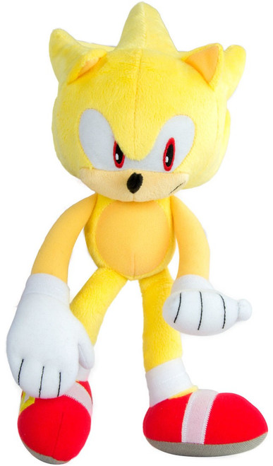 Sonic The Hedgehog Super Sonic 12-Inch Deluxe Plush [Modern]