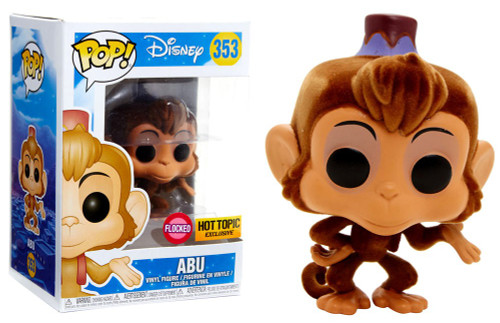 Funko Aladdin POP! Disney Abu Exclusive Vinyl Figure [Flocked Animated]