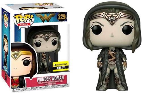 Funko DC Wonder Woman Movie POP! Heroes Wonder Woman Exclusive Vinyl Figure #229 [Cloak, Sepia]