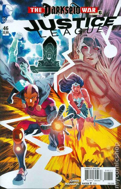 DC Justice League #46 The Darkseid War Part 6 Comic Book