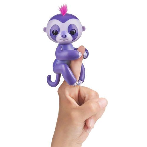 Fingerlings Baby Sloth Marge Figure [Purple]