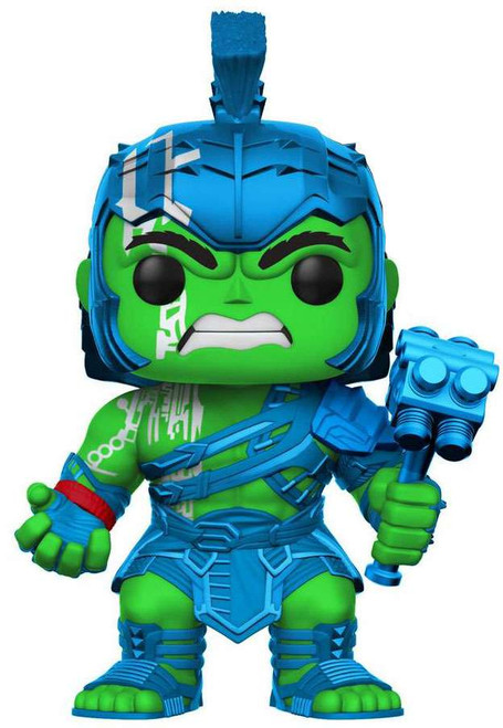 Funko Thor: Ragnarok POP! Marvel Hulk Exclusive Vinyl Bobble Head #241 [Neon Green / Metalic Blue]