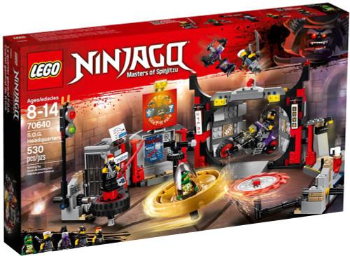 LEGO Ninjago S.O.G. Headquarters Set #70640