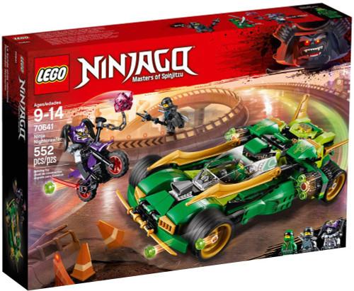 LEGO Ninjago Ninja Nightcrawler Set #70641