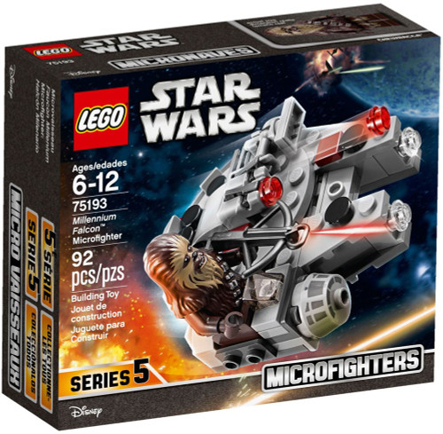 LEGO Star Wars Microfighters Series 5 Millennium Falcon Set #75193